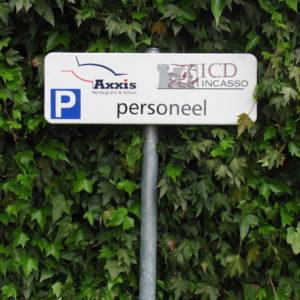 parkeerbord  - richtprijs 90,-