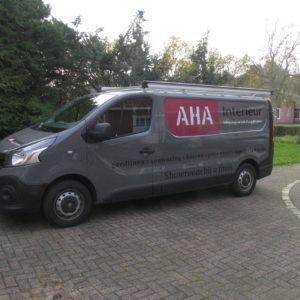 bus zijramen met one-way-vision - richtprijs 350,-