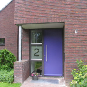 zandstraal huisnummer - richtprijs 85,-