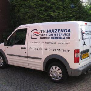 stickers en one vision raam achter - richtprijs 320,-