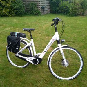 sticker op fiets - prijs op aanvraag -
